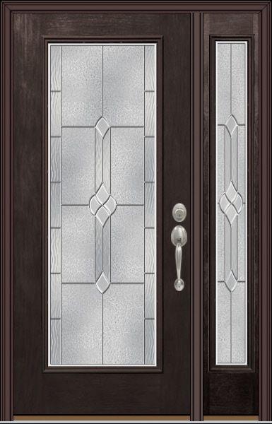 Provia Doors Eclipse 2 Front Door Design Wood Etched Glass Door Door Glass Design