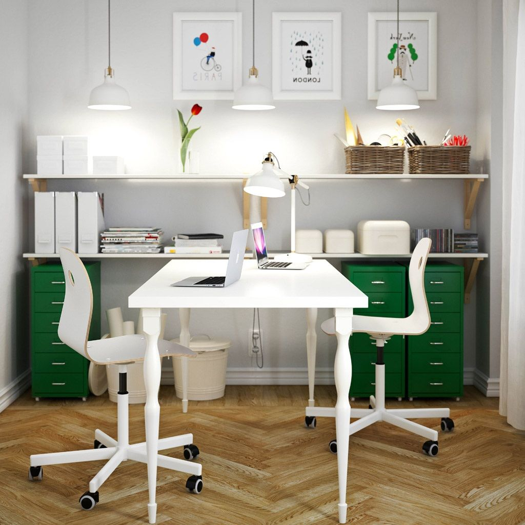 Cool Ikea Office Ideas | Furniture | Pinterest | Ikea office, Desk ...