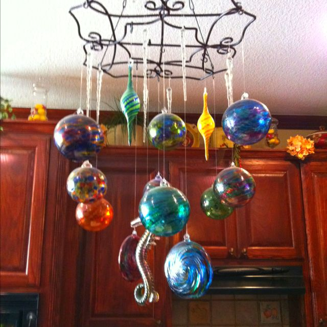 Extra larges Solar Flare Christmas 6 inch Ball Ornaments