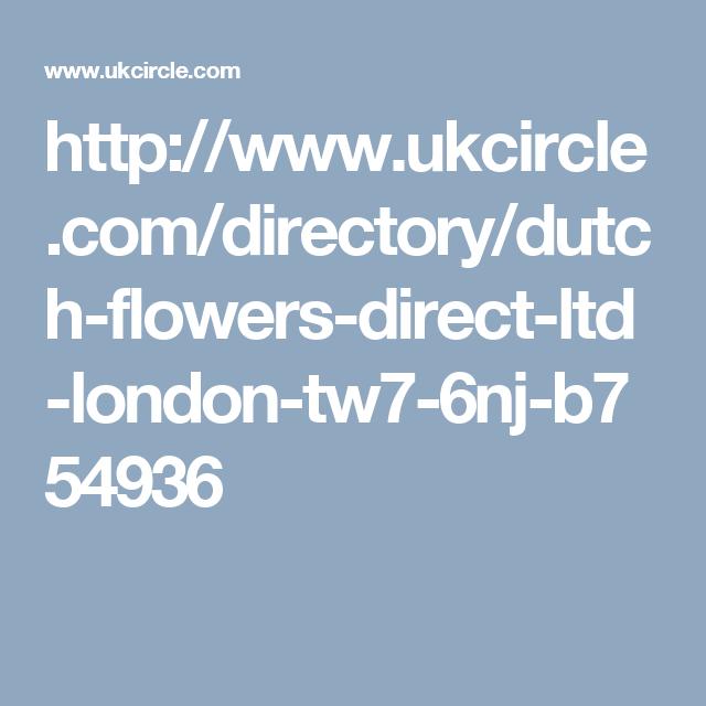 http://www.ukcircle.com/directory/dutch-flowers-direct-ltd-london-tw7-6nj-b754936