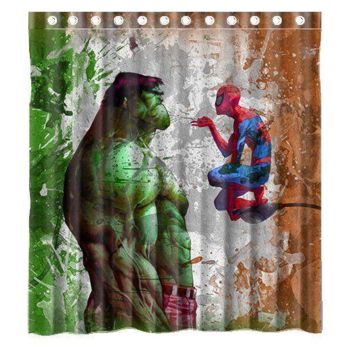 Custom Marvel Spiderman And Incredible Hulk Special Design