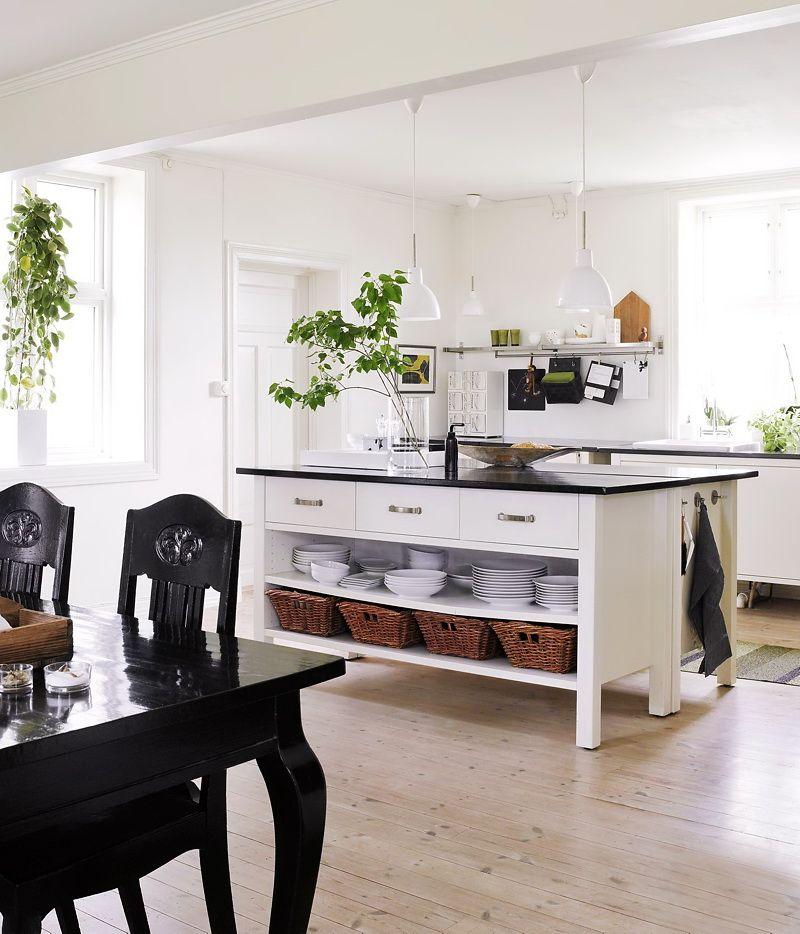 Insel aus 2 x Värdeu2026 schön lackiert Landhaus Küche Pinterest - kche mit kochinsel landhaus