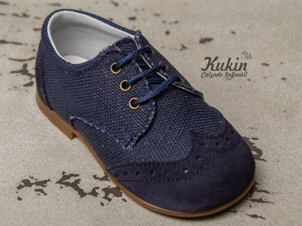 Zapatos azul marino infantiles z4EX4Btqut