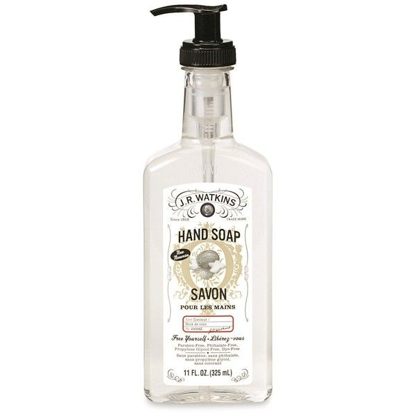J R Watkins Natural Liquid Hand Soap Coconut 11 Ounce Pack Of 6 17 Liked On Polyvore Featuring Beauty Products Bath Body Products And Body Cleanser