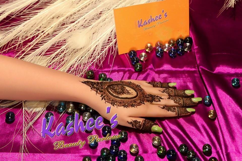 Kashee S Mehndi Makeup : Design by kashee s beauty parlour bridal mehndi designs