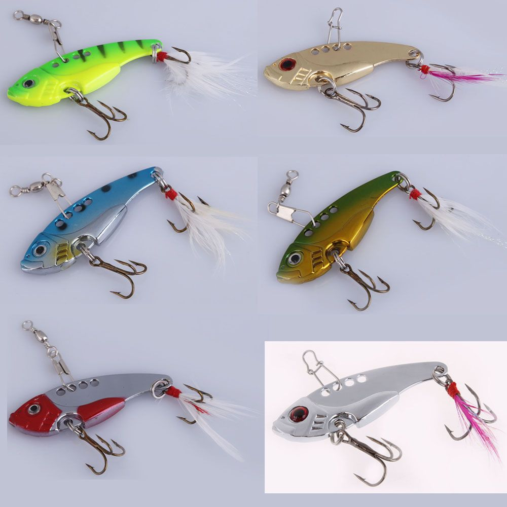 Excursion 20pcs Metal Fishing Lures Bass Spoon Crank Bait Outdoor Sport Saltwater Tackle Hooks Fishing Accessories