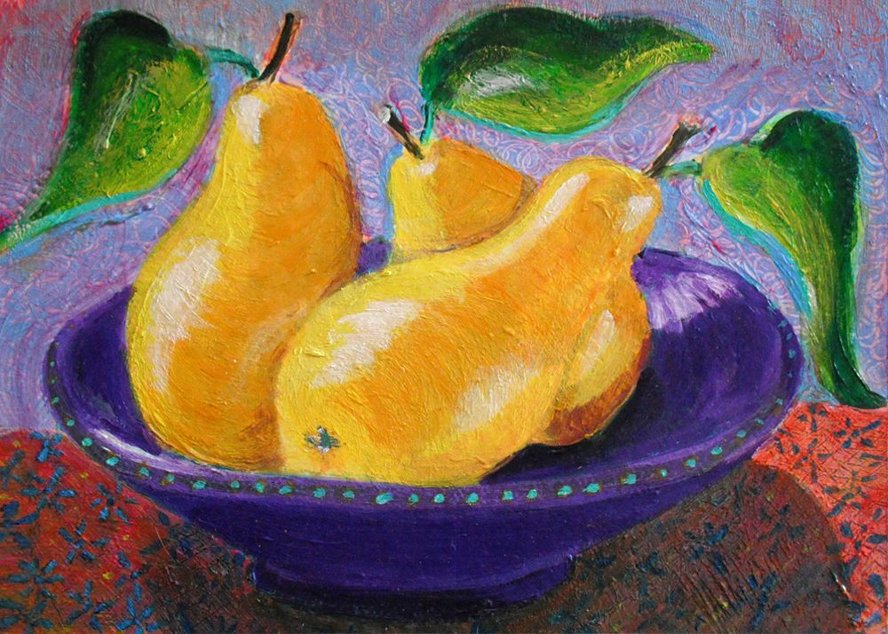 Painting With Acrylic Easy Pictures Fruit Still Life Heni S