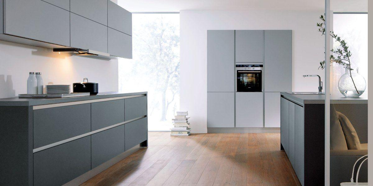 Contur® 55100 Stone Grey and Lava Black Matt Kitchen Interiors - alte k chenfronten erneuern