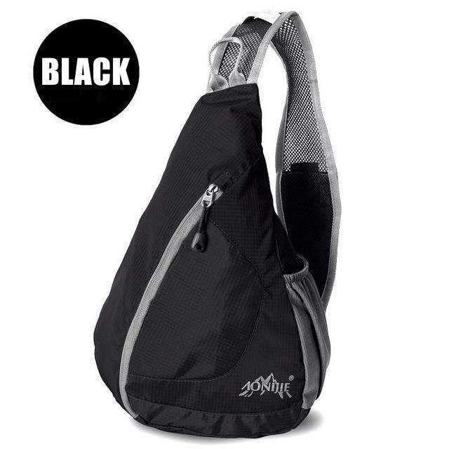 3fe0d37a7f Aonijie Outdoor Sling Chest Bag Crossbody Bags Women Waterproof Running Bag  Pack Chest Bags For Men Crossbody For Travel Running