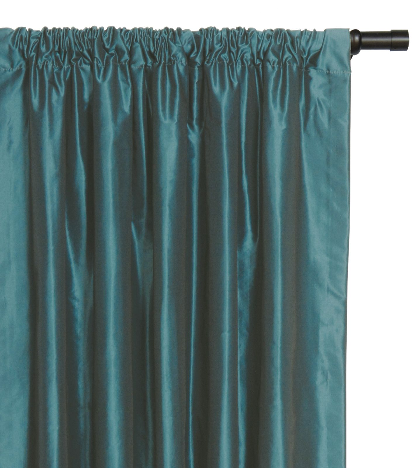 Teal Drapes Panels Luxury Bedding By Eastern Accents FREDA TEAL CURTAIN P