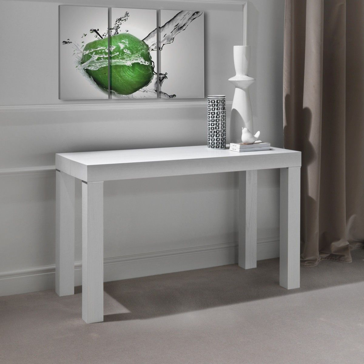 Rapida+consolle+allungabile+in+tavolo+design+moderno+120+x+300+cm ...