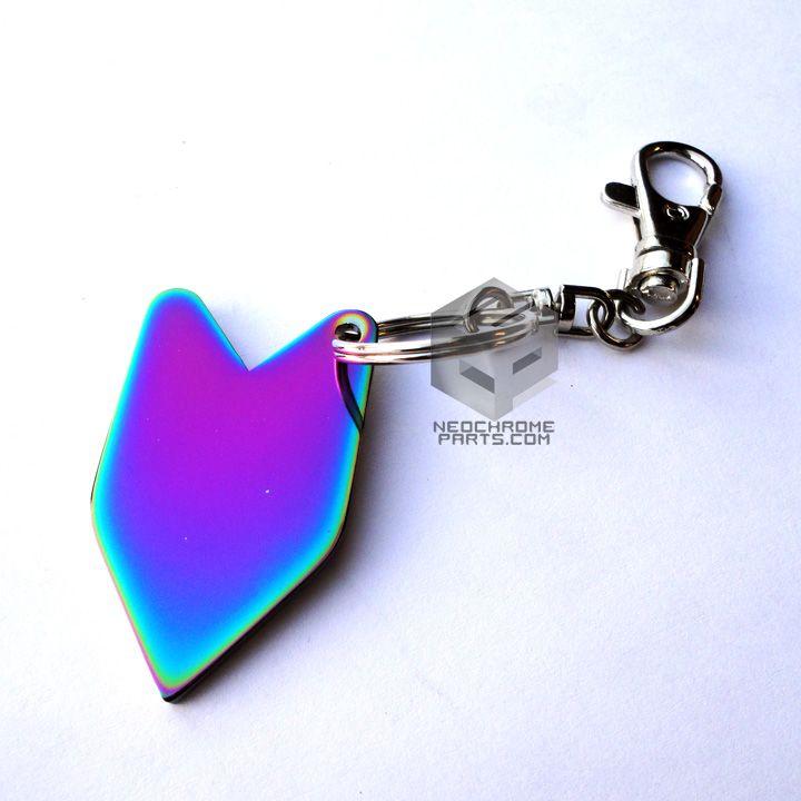 Wakaba Aurora Neo Chrome Key Chain