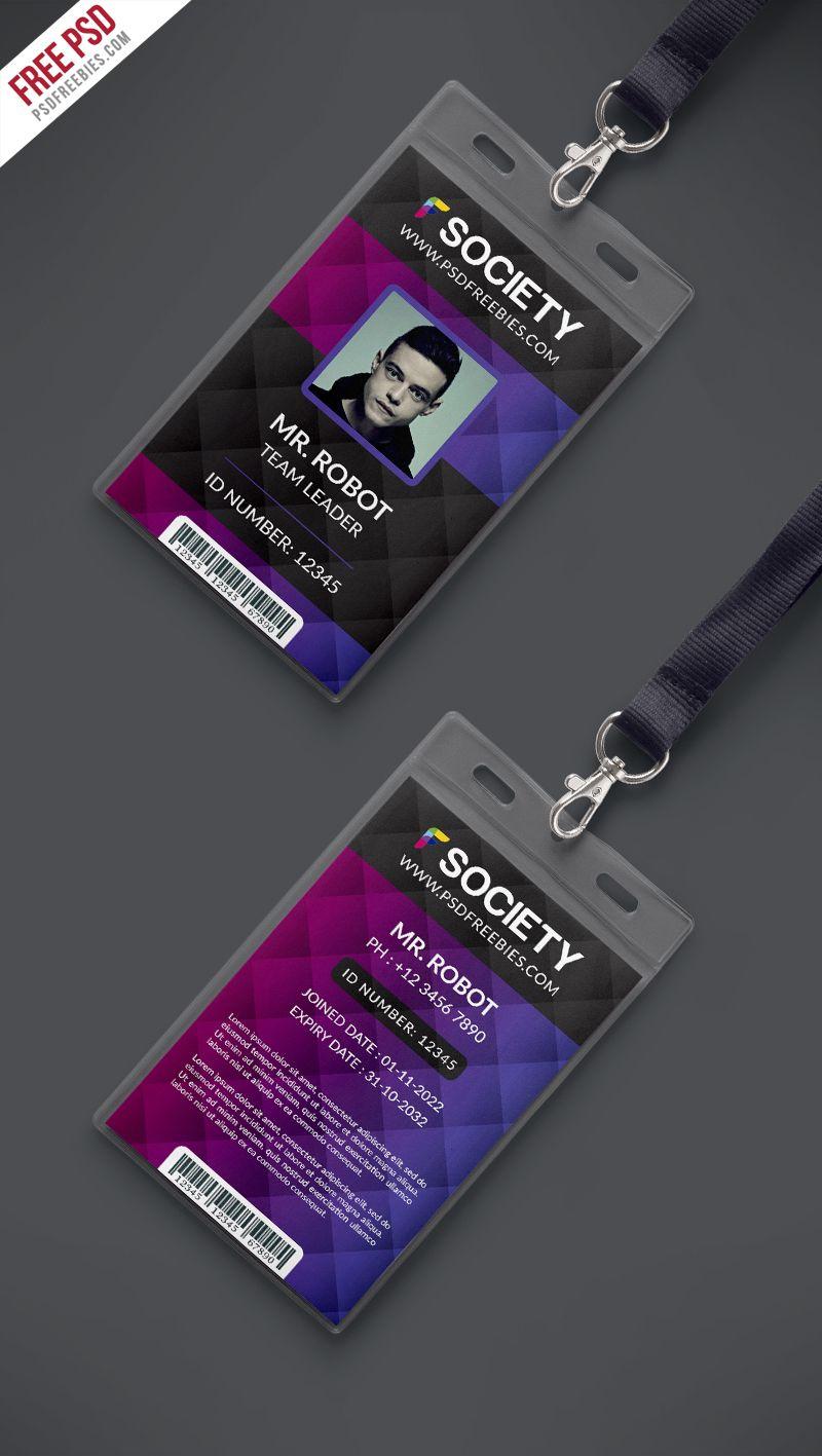id badge template free online goseqh tk