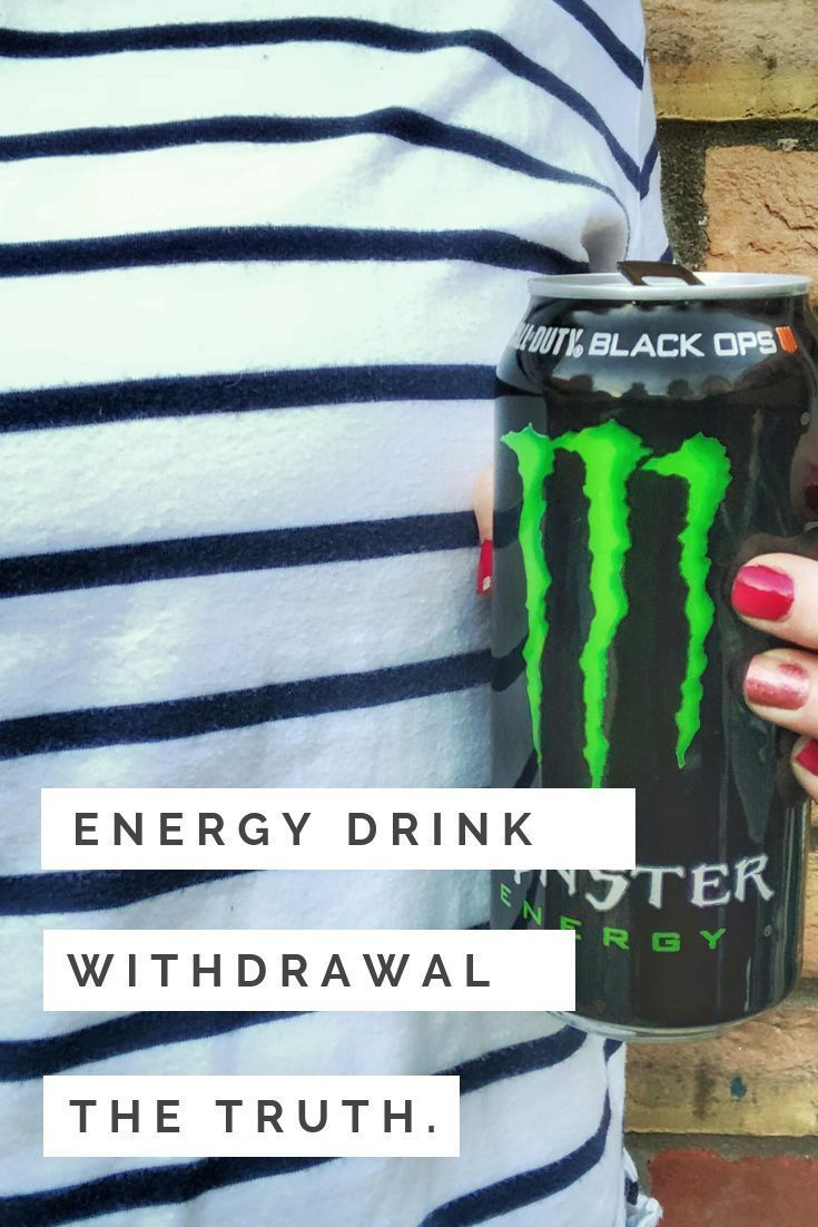 Energy drink withdrawal the truth health mentalhealth