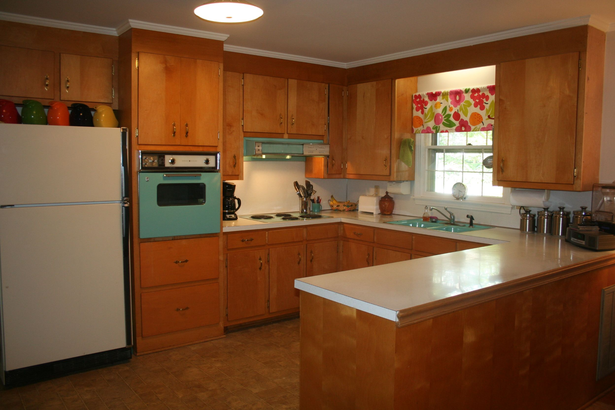 Turquoise Kitchen Appliances Modern Cabinets For Sale 208 Pictures Of Vintage Stoves Refrigerators And Large