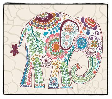 Karavan From Valori Wells Is Now Available At Hawthorne Threads Elefantes Bordados Patrones De Bordado Bordado Mejicano