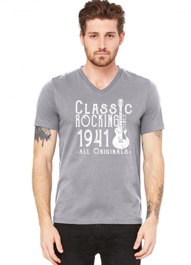 rocking since 1941 copy V-Neck Tee