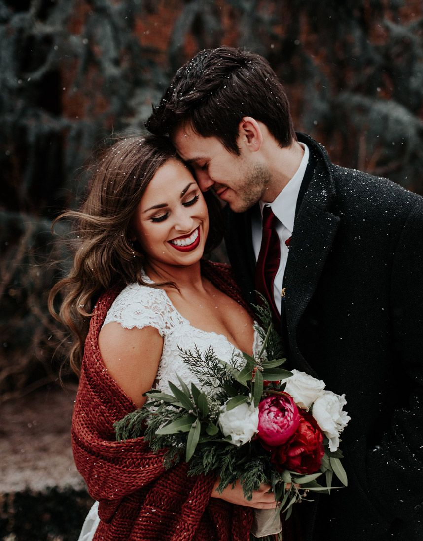Bridal Beauty Hair and Makeup Trends Winter weddings