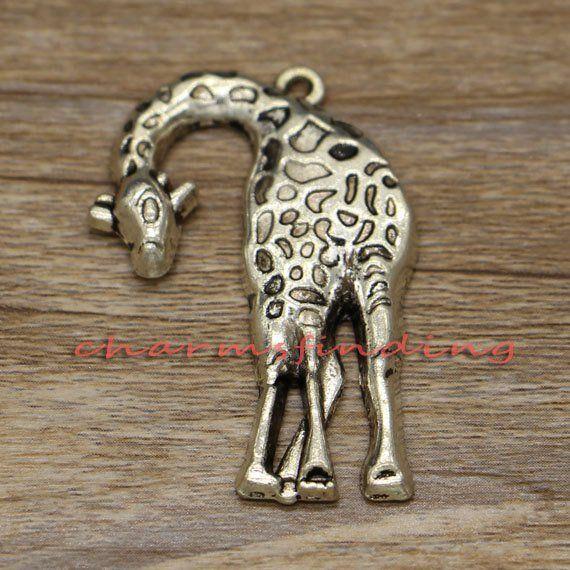 10pcs-brass tone Dog charm,pet charm animal charm