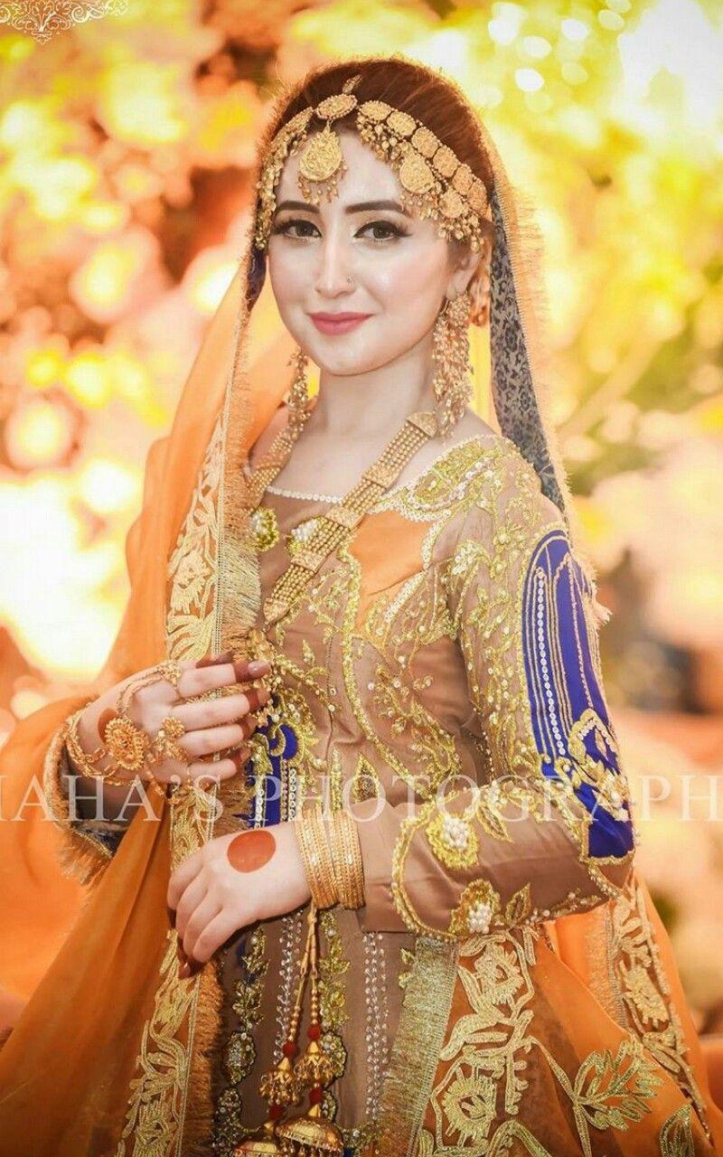 81861995fc Pakistani Bridal Mehndi Dresses Pictures