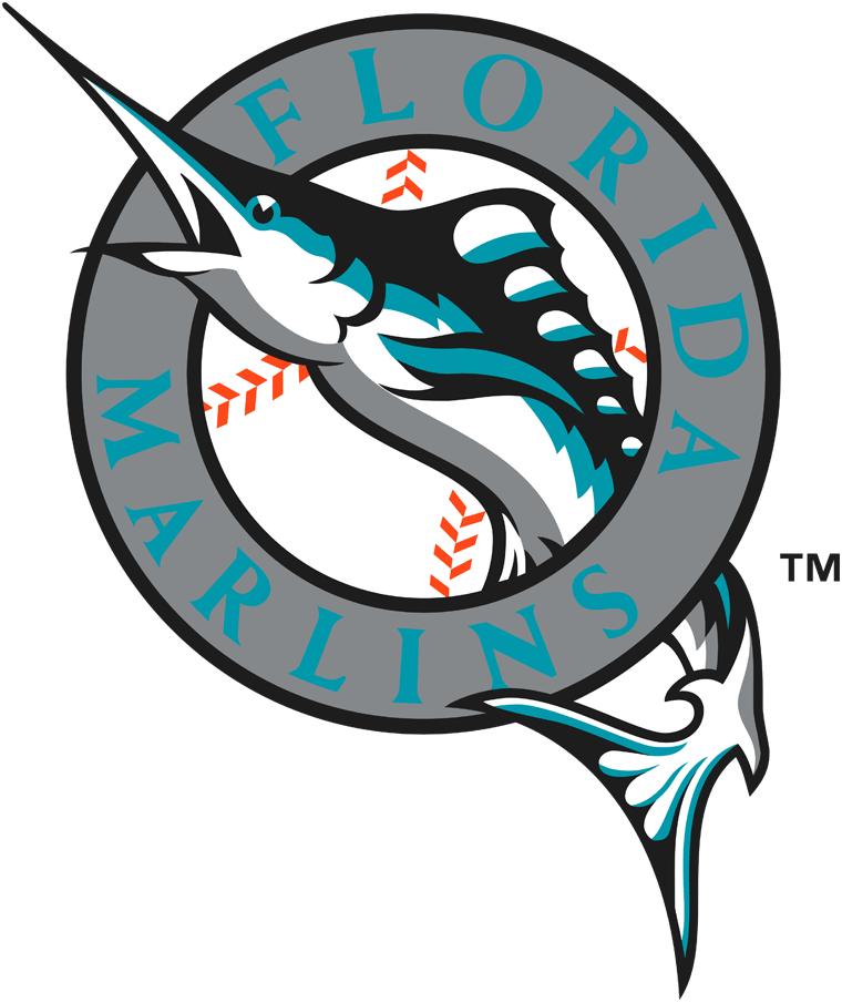 Florida Marlins Primary Logo Equipos De Beisbol Equipos Mlb Beisbol