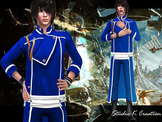FMA-Team Uniform at Studio K-Creation via Sims 4 Updates