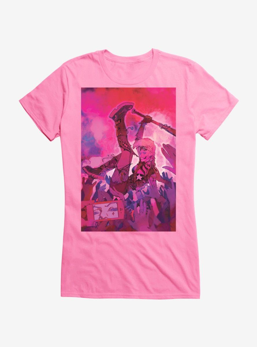 DC Comics Batman Harley Quinn Crowd Surf Girls T-Shirt #surfgirls