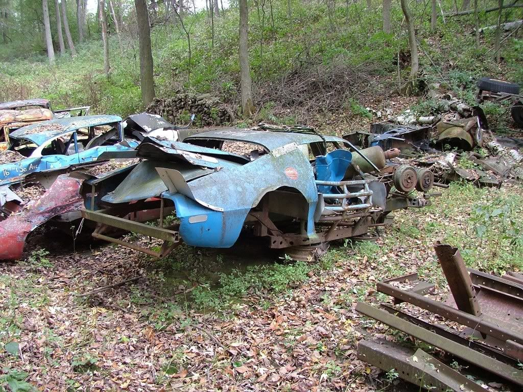 NASCAR Cars in Junk Yards - Bing images   The Facination Of