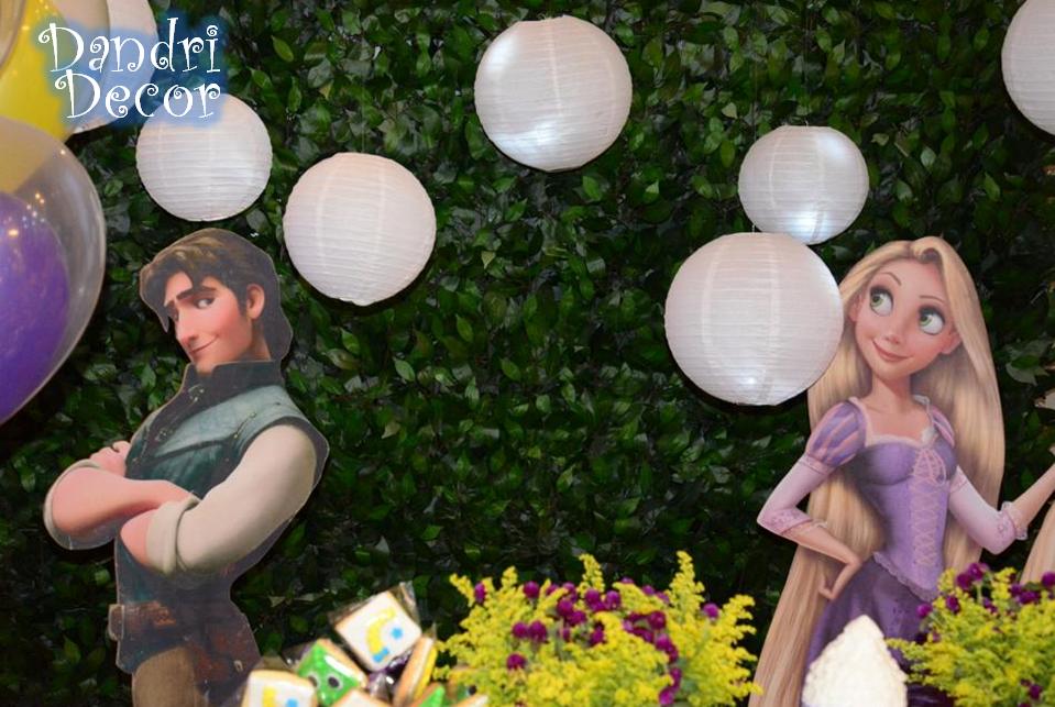 Luminárias - Festa Enrolados/Rapuzel