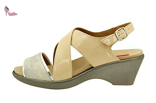 Chaussures Shinik beiges femme MNyV7