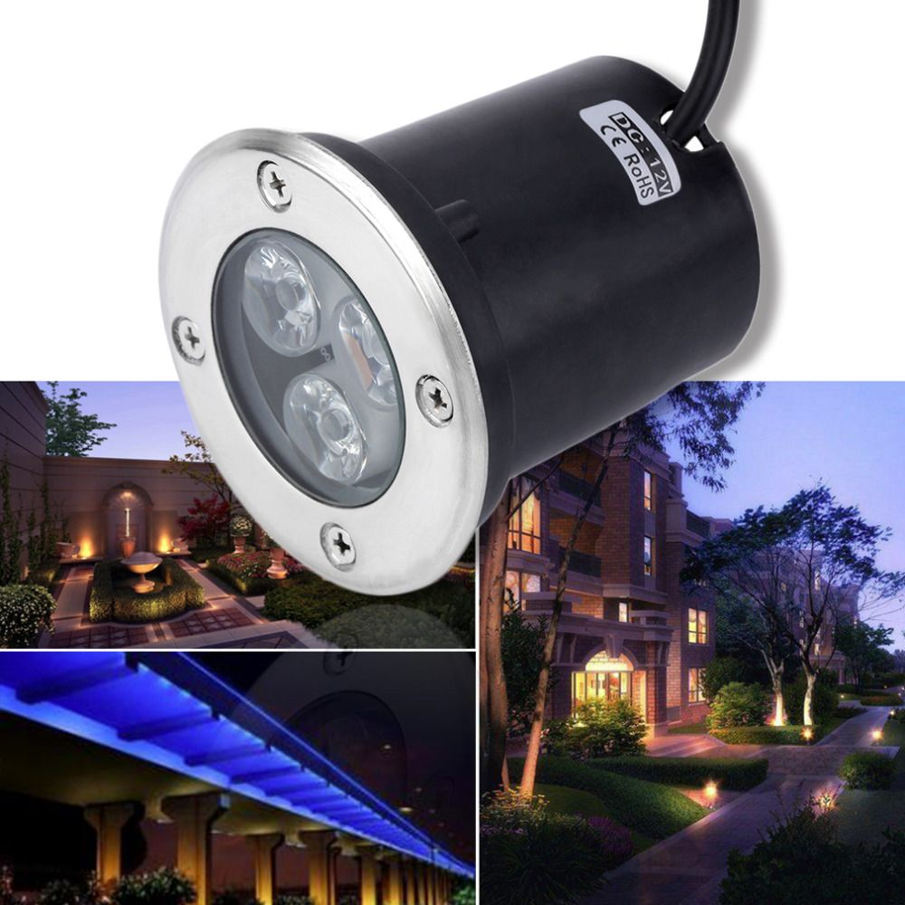 2017 new arrival3w led waterproof outdoor in ground garden path 2017 new arrival3w led waterproof outdoor in ground garden path flood landscape light dc 12v universal aloadofball Image collections