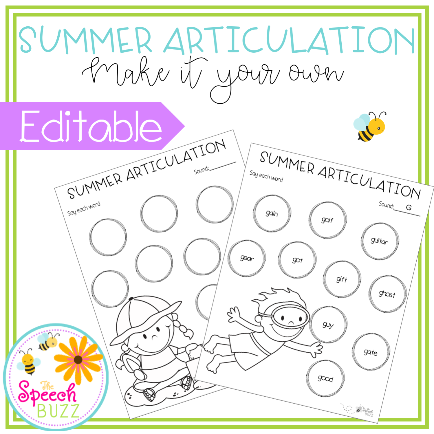 Summer Articulation