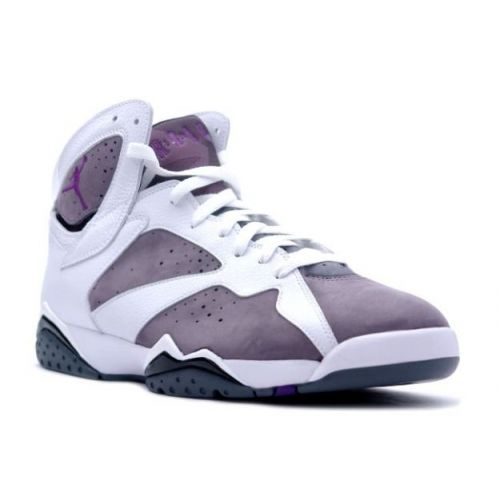 big sale e034b a4a46 Air Jordan 7 White Varsity Purple Flint Grey 304775-151  Purple  Womens   Sneakers