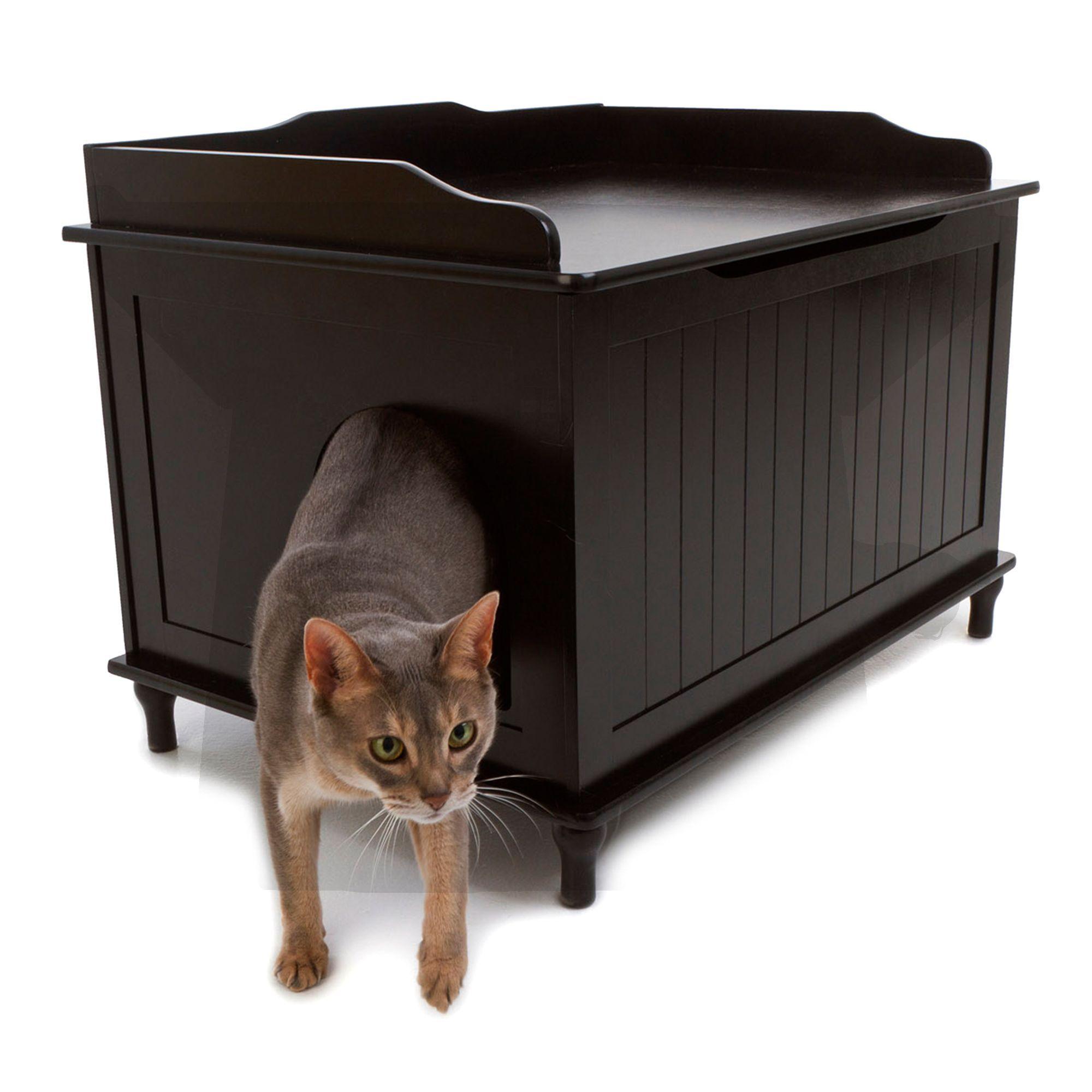 Designer Catbox Cat Litter Box Enclosure Litter box