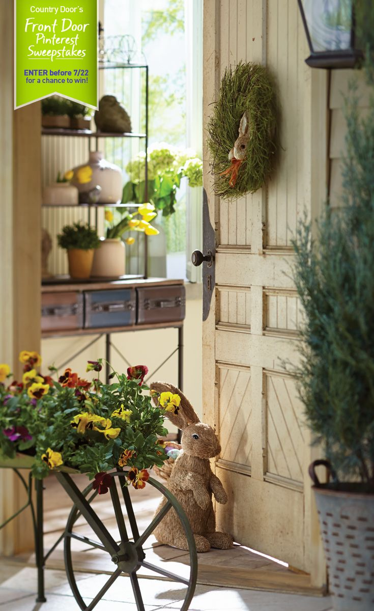 Country Door S Front Door Pinterest Sweepstakes What Does Your Dream Front Door Look Like Enter For A Chance Country Door Country Cottage Decor Country Doors