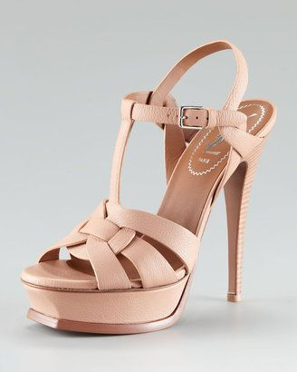 049ec26fa05 ShopStyle  Yves Saint Laurent Tribute Platform Sandal  795