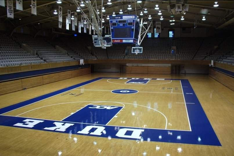 Cameron Indoor Stadium Duke University Blue Devils Durham Nc Stadium University Blue Duke Basketball