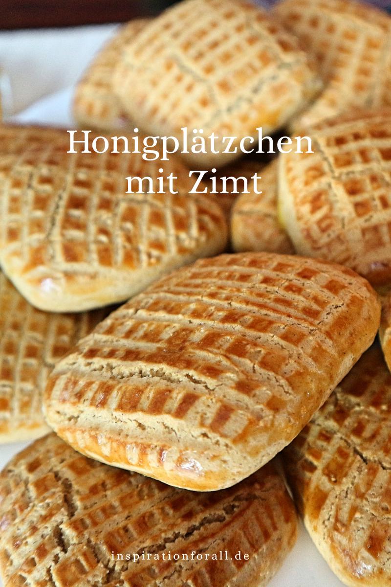 Honigplätzchen mit Zimt – sehr einfaches Rezept für aromatische Kekse