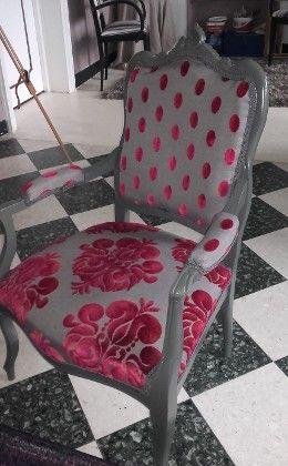fauteuil louis xv tissus beaubourg et galliera casal tapissier et refection pinterest. Black Bedroom Furniture Sets. Home Design Ideas