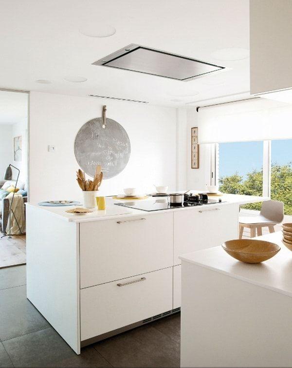 Campanas extractoras para islas de cocina affordable elica grace campanas para islas de cocina - Campanas decorativas baratas ...