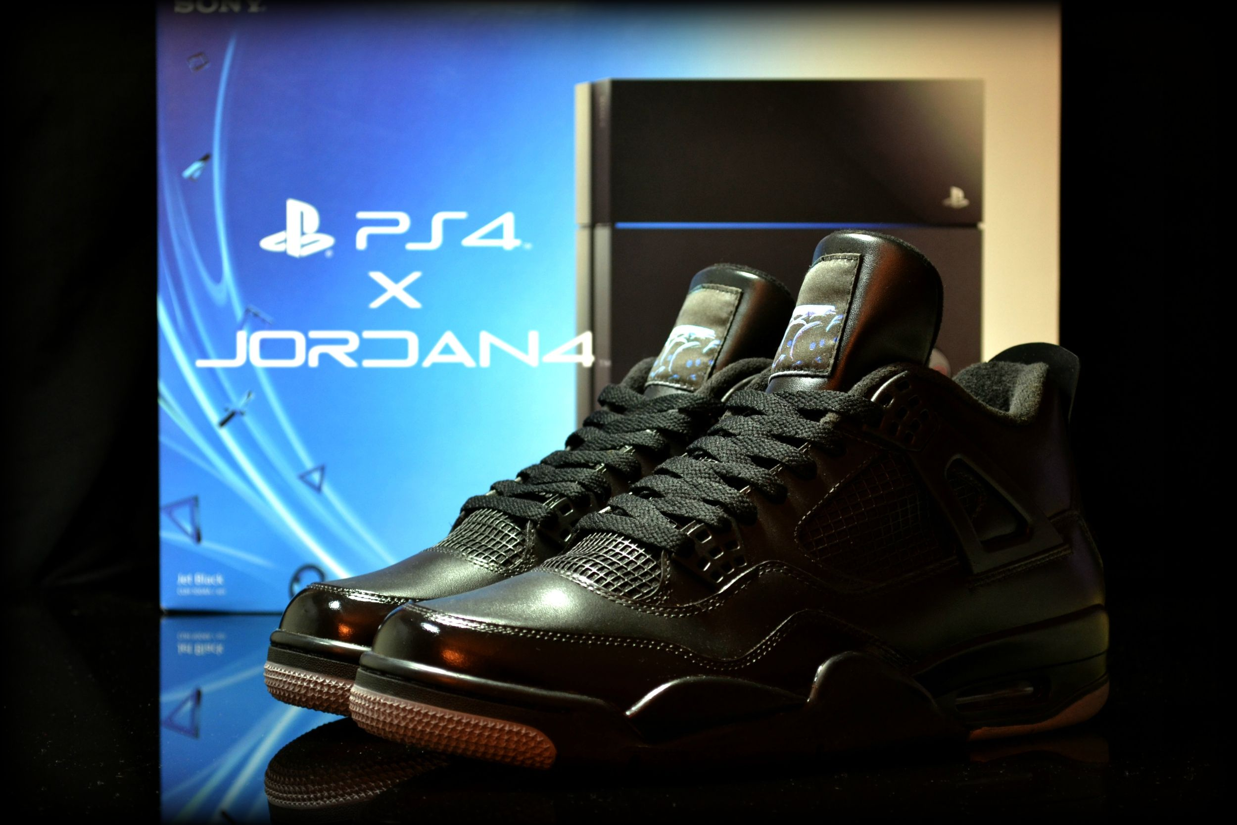 35cde4bf922e Online 2015 Nike Jordan 4 Cheap sale TIFFiti Customs by Sekured ...