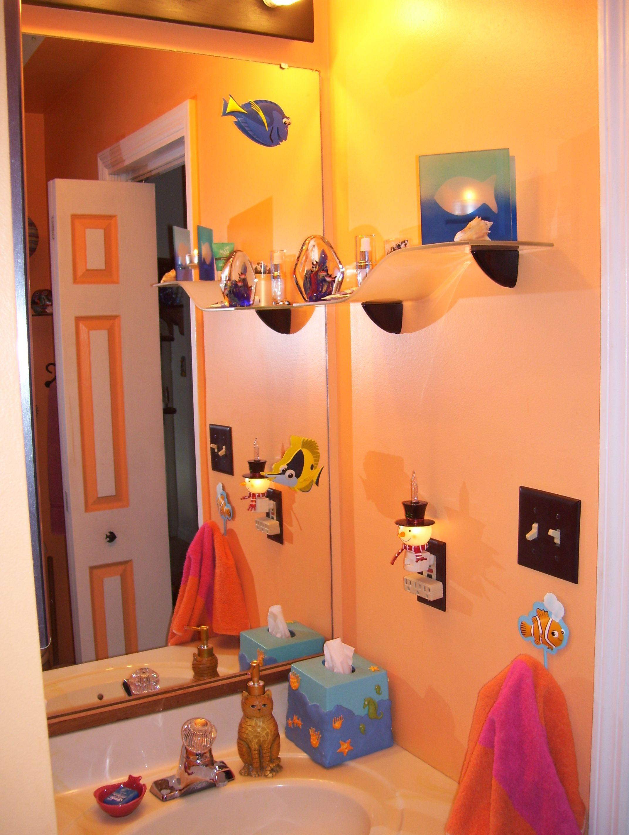 My Tropical Fish Bathroom Fish Bathroom Fishing Bathroom Decor Bathroom Decor Tropical fish bathroom decor