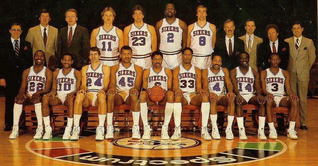 Philadelphia 76ers 1982 1983 Philadelphia 76ers