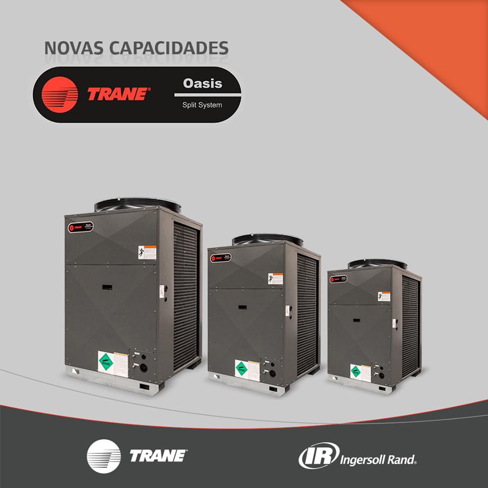 NOVO SPLITÃO TRANE OASIS | Melhoria contínua, Instalação ...