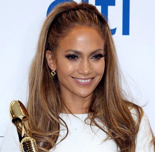 jennifer lopez hair and makeup billboard awards 2014. Black Bedroom Furniture Sets. Home Design Ideas