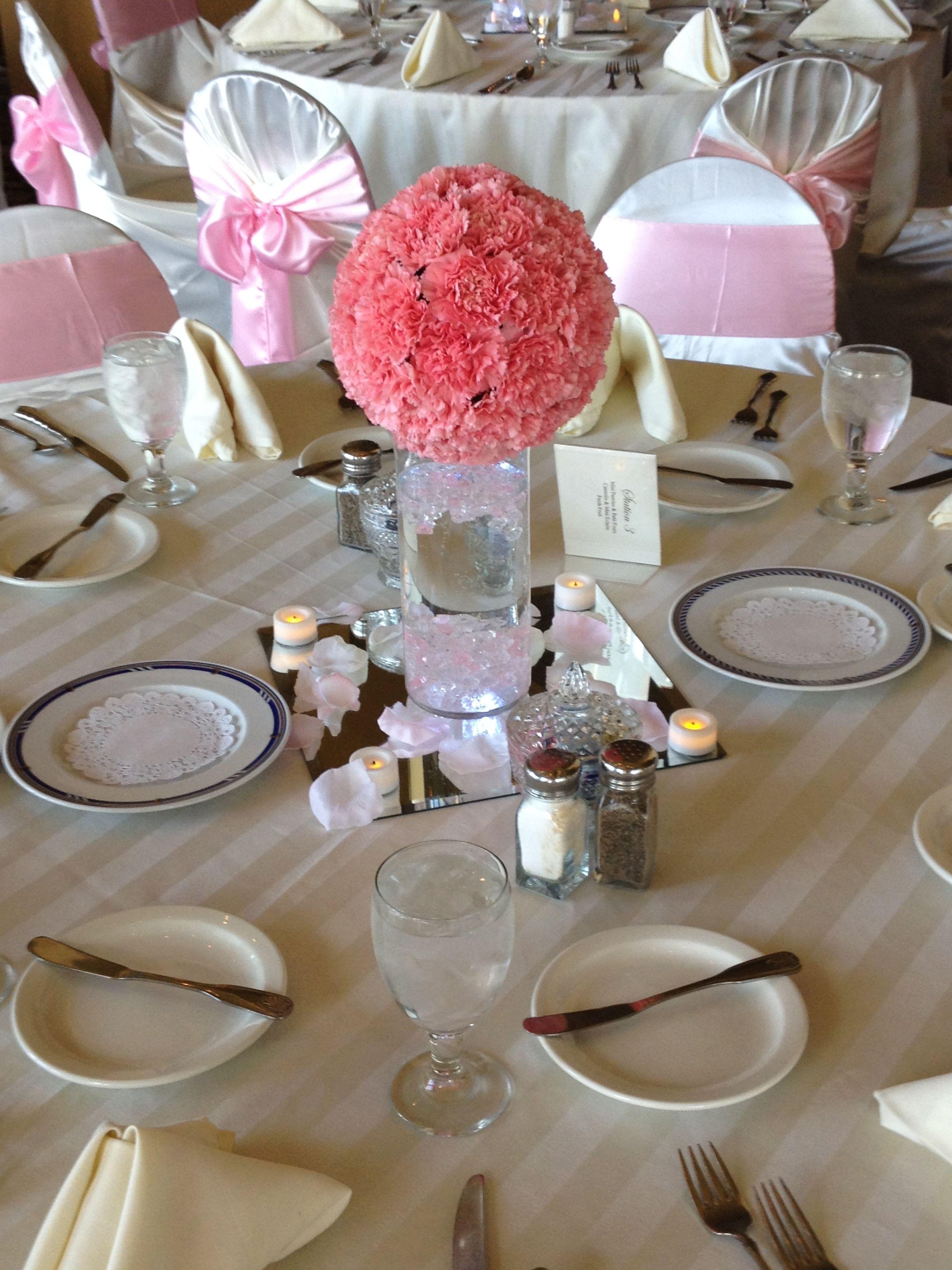 Carnation Centerpiece Carnation Centerpieces Wedding