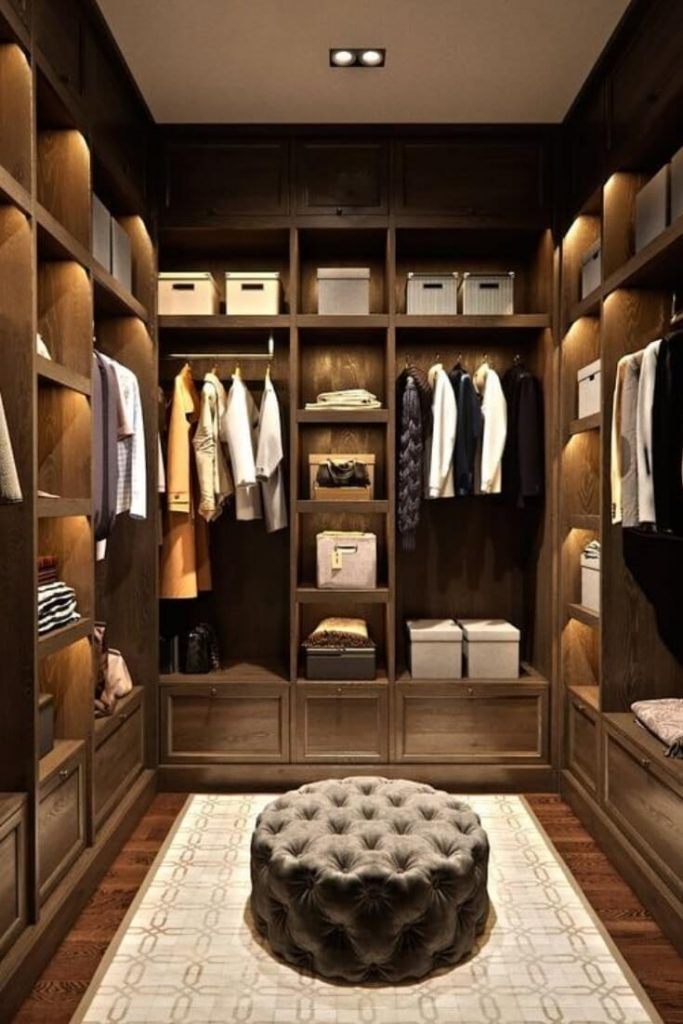 17 Luxury Walk In Closet Ideas To Make Bedroom Interior More Organized In 2020 Walk In Closet Design Closet Decor Bedroom Closet Design