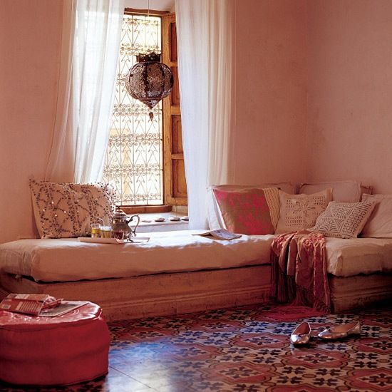 Wohnideen Schlafzimmer Orientalisch: Design Aus Marokko - Wohnzimmer