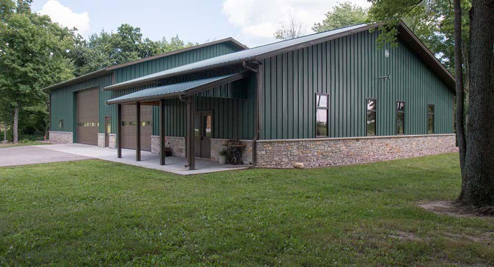 Amazing metal building garage metal building homes for Barndominium floor plans with garage
