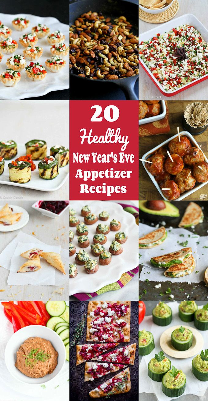 20 Healthy New Year S Eve Appetizer Recipes Cookin Canuck New Year S Eve Appetizers New Years Eve Snacks Appetizer Recipes